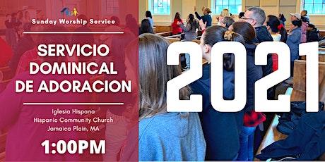 SERVICIO DE ADORACIÓN - WORSHIP SERVICE tickets