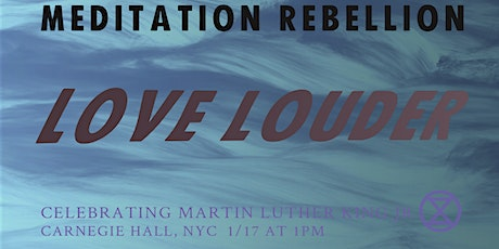 """Love Louder """"I have a dream"""" tickets"""