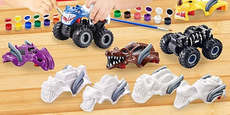 DIY PROJECTS with the DYC (3rd grade) MONSTER TRUCKS! tickets