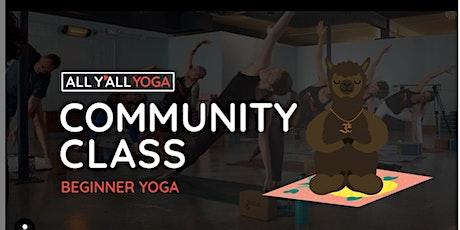 Community Yoga - Virtual tickets
