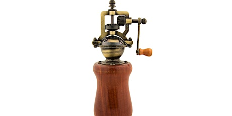 Turn a Pepper Mill on the wood lathe - 2 evenings tickets