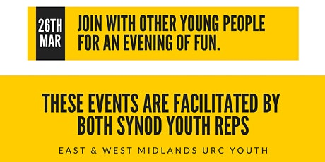 Final Fridays - Joint Midlands Synod URC Youth Events tickets