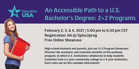An Accessible Path to a U.S. Bachelor's Degree: 2+2 Programs tickets