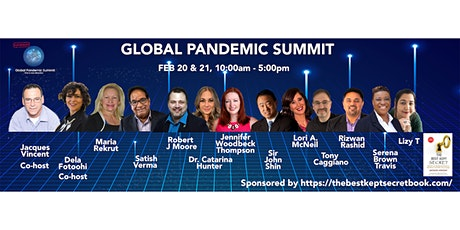 GPS Global Pandemic Summit - The Sequel tickets