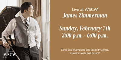 James Zimmerman on the Patio February 7