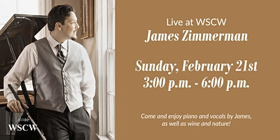 James Zimmerman on the Patio February 21