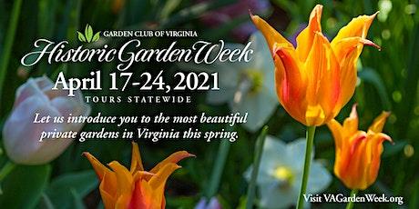 88th Historic Garden Week: Lynchburg Tour tickets