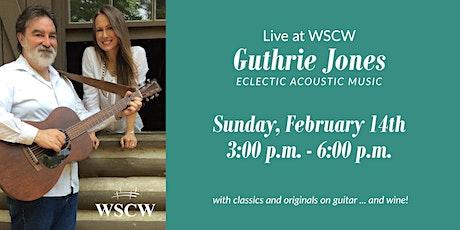 Guthrie Jones February 14 tickets