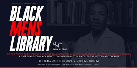 Black Mens Library at SAiD tickets
