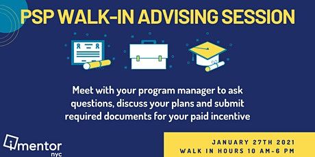 Walk-In Advising tickets