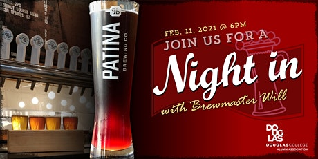 Interactive Night In to learn from Brewmaster Will Tanenbaum tickets