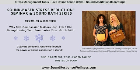 2xSession Bundle: Sound-Based Stress Reduction™  Series: February+March2021 tickets