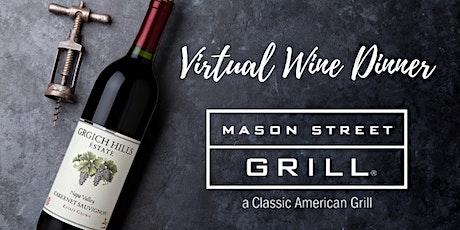 Mason Street Grill Virtual Wine Dinner tickets