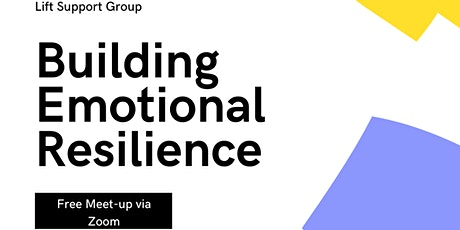 Building Emotional Resilience tickets