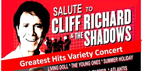 A Salute to Cliff Richard & The Shadows 2021 tickets