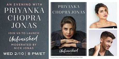 An Evening with Priyanka Chopra Jonas Tickets