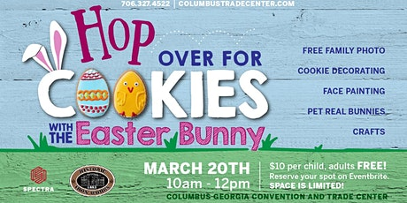 Cookies with the Easter Bunny tickets