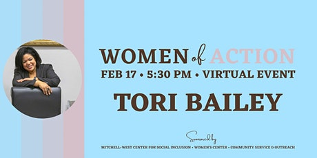 Women of Action with Tori Bailey tickets