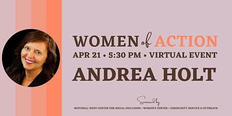 Women of Action with Andrea Holt tickets