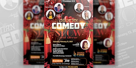 Christian Comedy Show and Dinner tickets