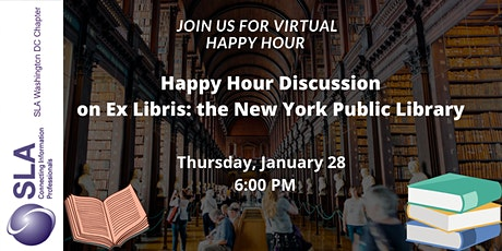Happy Hour Discussion on Ex Libris: the New York Public Library tickets