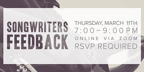 Songwriters Feedback (Online Gathering) tickets