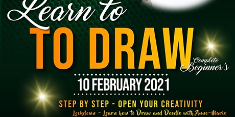 Lockdown - Learn to Draw and Doodle for Adult Beginner's via Zoom tickets
