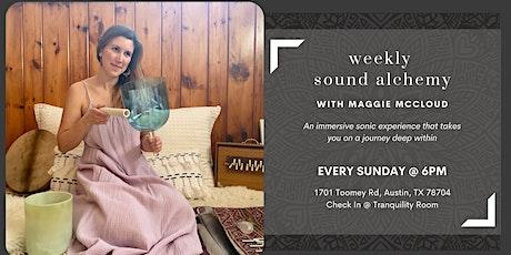 Weekly Sound Alchemy Healing tickets