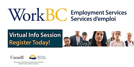 WorkBC virtual Info Session - New Provincial Wage Subsidy Program tickets