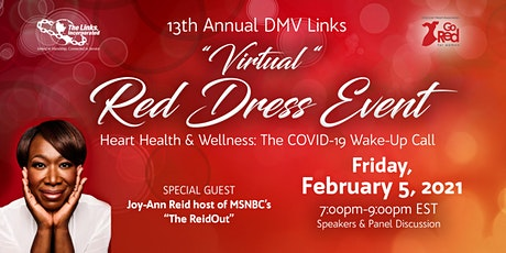 13th Annual  DMV Links Red Dress Event tickets