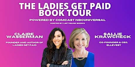 The Ladies Get Paid Book Tour: Sallie Krawcheck, Founder & CEO of Ellevest tickets