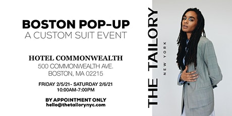 BOSTON POP-UP : A CUSTOM SUITING EVENT tickets