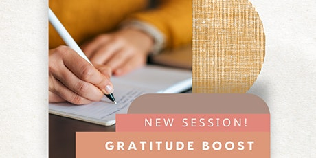 Pen Therapy Gratitude Boost Journaling Session - 3PM tickets