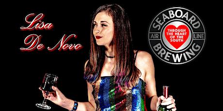 Lisa De Novo Live @ Seaboard Brewing | Taproom | Wine Bar tickets