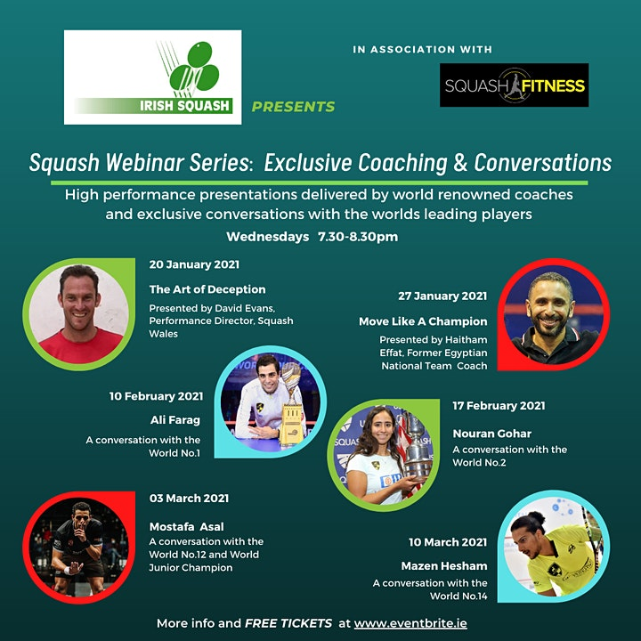 Squash:  Nouran Gohar - A Conversation with the World No.2 image