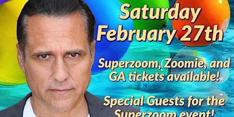 Birthday Zoom Party w/ Maurice Benard!- Saturday, Feb 27, 2021 tickets