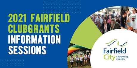 2021 Fairfield ClubGRANTS Information Sessions tickets