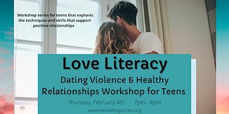 Love Literacy ~ February 2021 Teen Workshop tickets