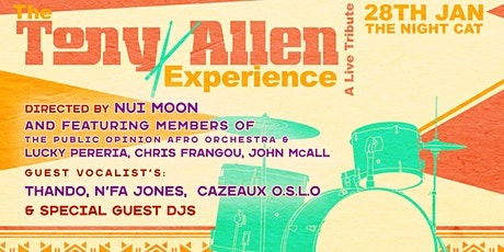 The Tony Allen Experience tickets