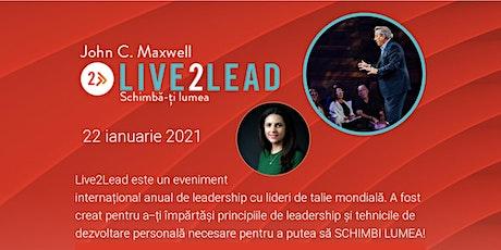 Live2Lead Romania virtual event tickets