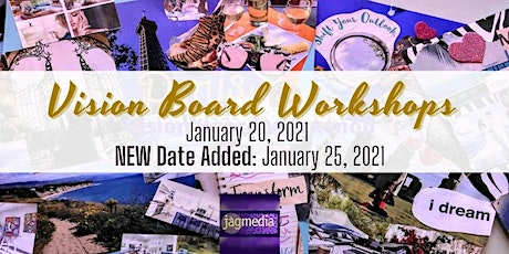 Create Your Vision for 2021 in a Vision Board Workshop Live Online tickets