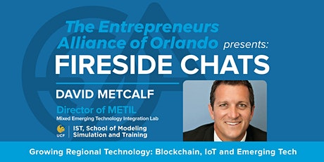 A Fireside Chat with David Metcalf tickets