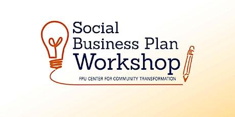 Social Business Plan Workshop (Hosted on Zoom) entradas