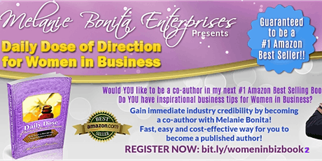 Daily Dose of Direction for Women In Business Volume II Book Collaboration tickets
