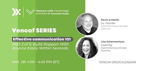 Vencaf SERIES: Effective Communication 101 (Part 2 of 5) tickets