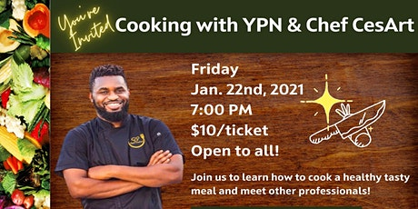 Cooking with YPN & Chef CesArt tickets
