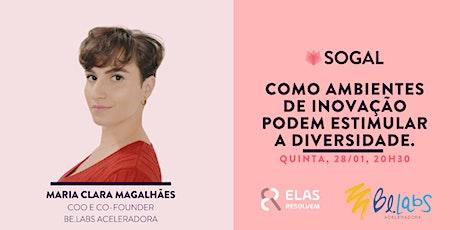 Painel Brasil -Como os ambientes de inovação podem estimular a diversidade. ingressos