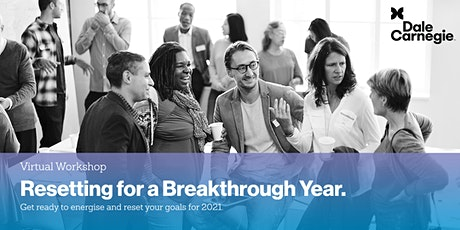 Resetting for a Breakthrough Year tickets