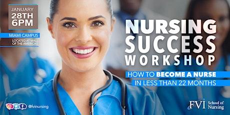 FVI School of Nursing - Miami Campus Now enrolling for Nursing! tickets