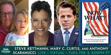 Book Passage Presents: Steve Kettmann, Mary C. Curtis & Anthony Scaramucci tickets